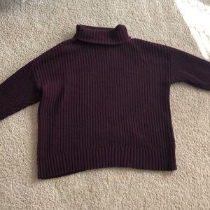 maroon Arie sweater